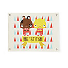 Besties Wall Art Banner
