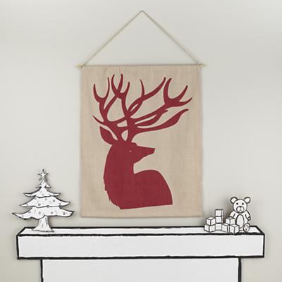 Canvas Deer Wall Art