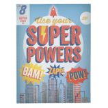 Use Your Super Powers Wall Art