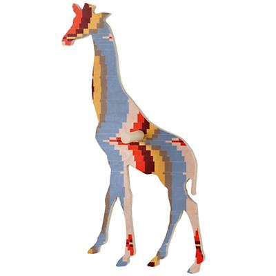 Medium Flashy Forest Giraffe Wall Hook