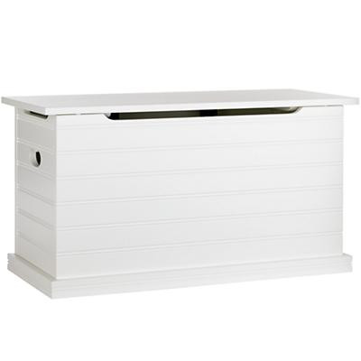 Beat Our Chest Toy Chest (White)