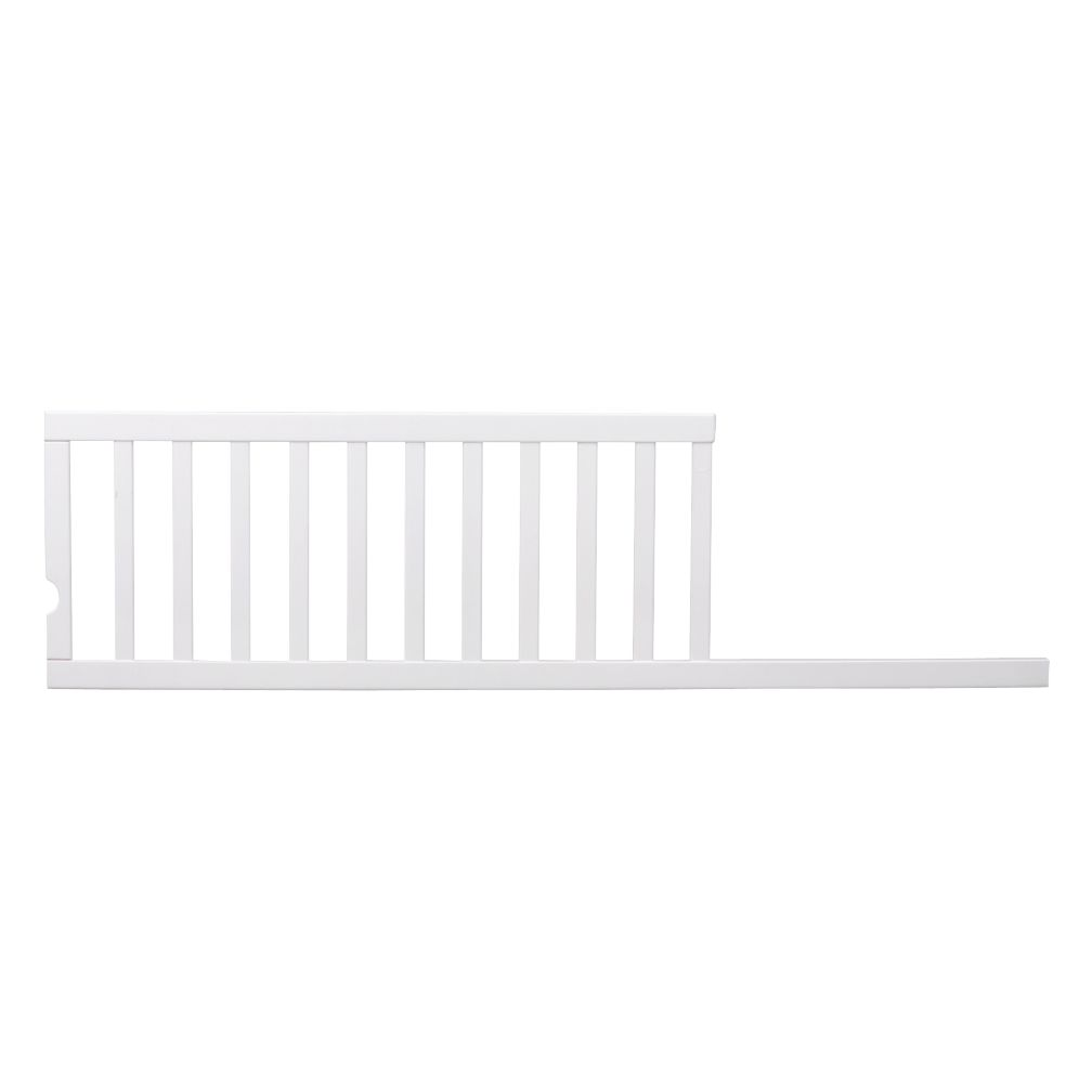 Sleigh Crib Toddler Rail (White)