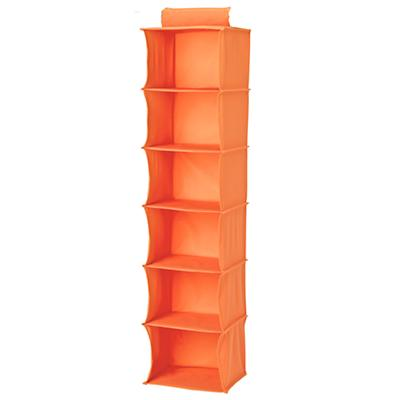 I Think I Canvas Wide Hanging Organizer (Orange)