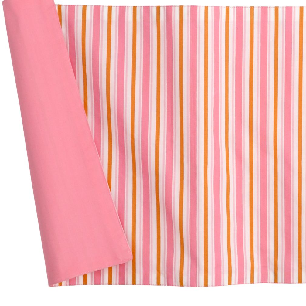 The Morning Zoo Crib Skirt (Pink)