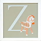 Framed Letter Z