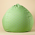 "40"" Green Dots Beanbag Chair includes Cover and Insert"