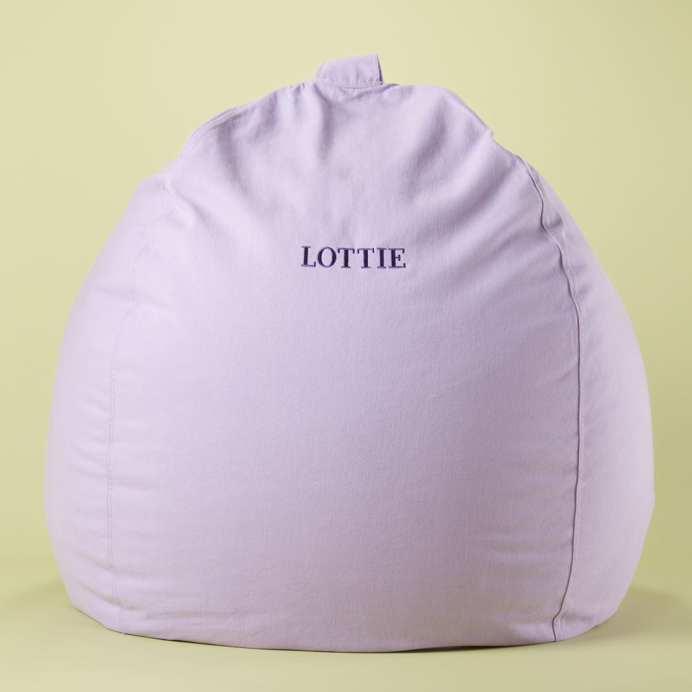 40&quot; Lavender Personalized Ginormous Beanbag