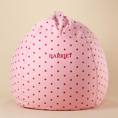 "40"" Ginormous Bean Bag (Pink Dots)"