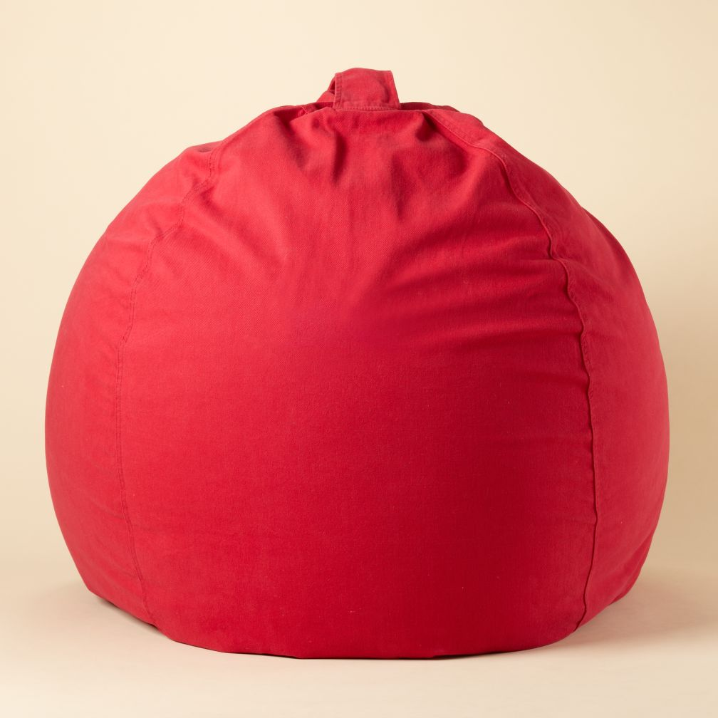 "40"" Red Ginormous Beanbag Cover"