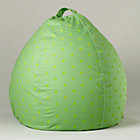 "40"" Green Dots Beanbag Cover Only"