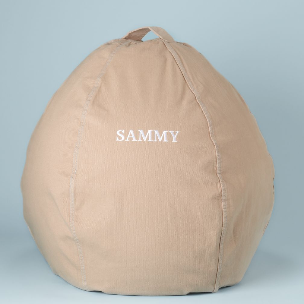 Khaki Personalized Beanbag