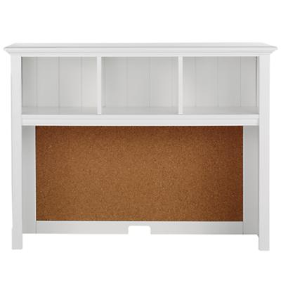 Walden Desk Hutch (White)
