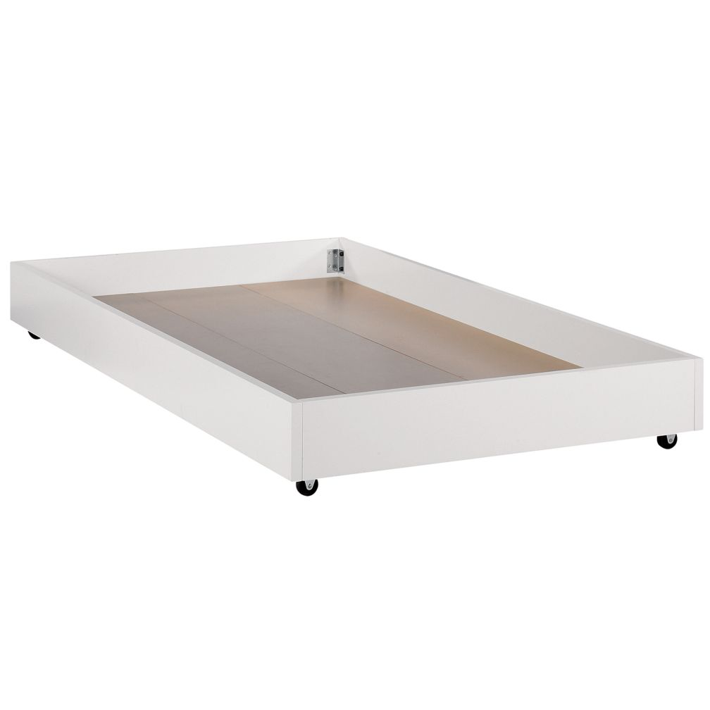 White Storage Trundle