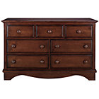 Chocolate 7-Drawer Dresser