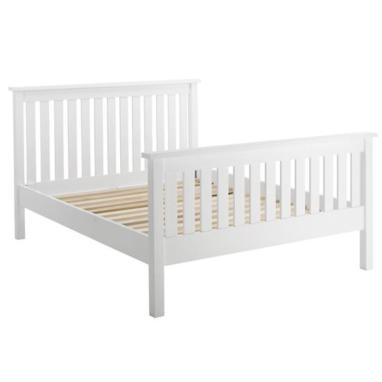 White Full Canopy Bed 550 x 550