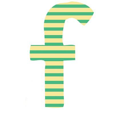 Fantabulous Fabric Letter f
