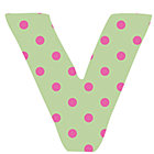 Fabric Letter v