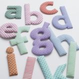 Fantabulous Fabric Letters