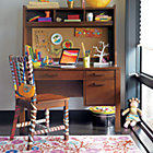 Oak Park Elementary Desk & Hutch Set