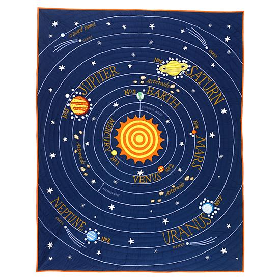 toddler bedding solar system - photo #21
