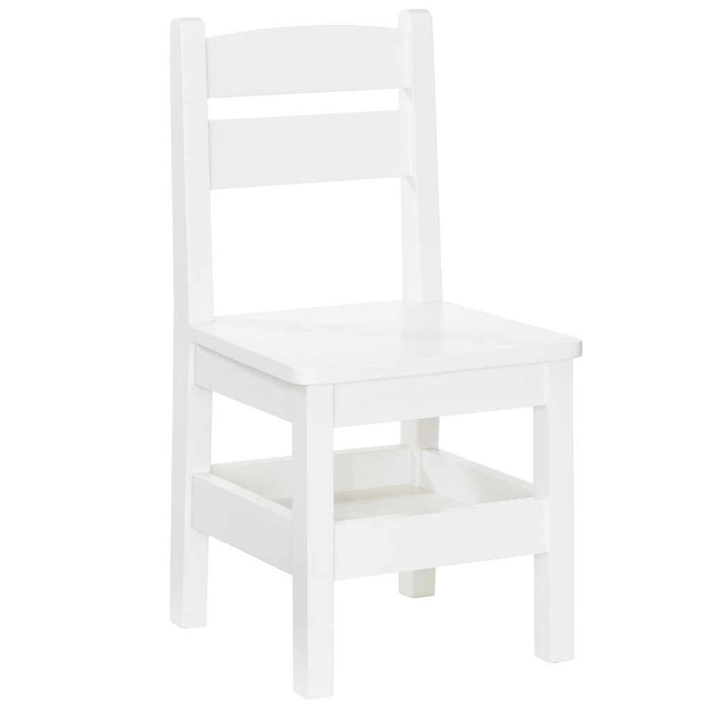 Storage Chair (White)