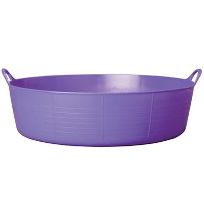 Large Shallow Tubtrug® Tub (Purple)