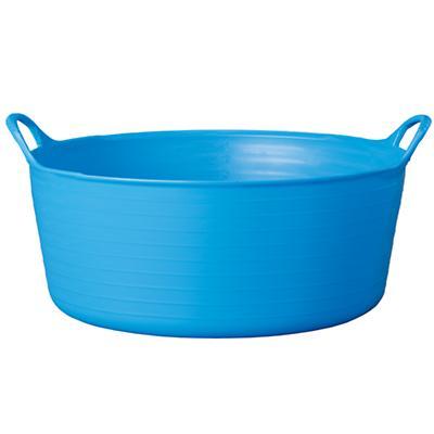 Small Shallow Dk. Blue Tub