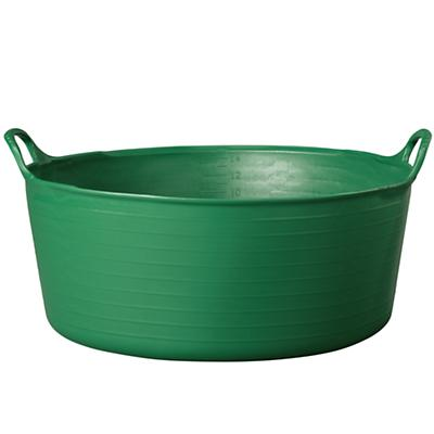 Small Shallow Tubtrug® Tub (Dk. Green)