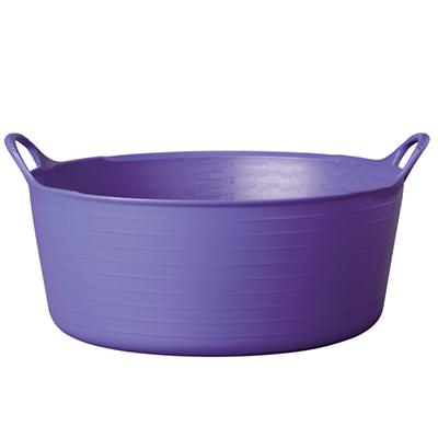 Small Shallow Purple Tub